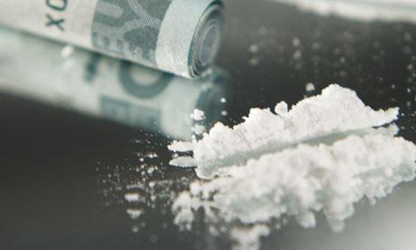 illicit stimulating drug